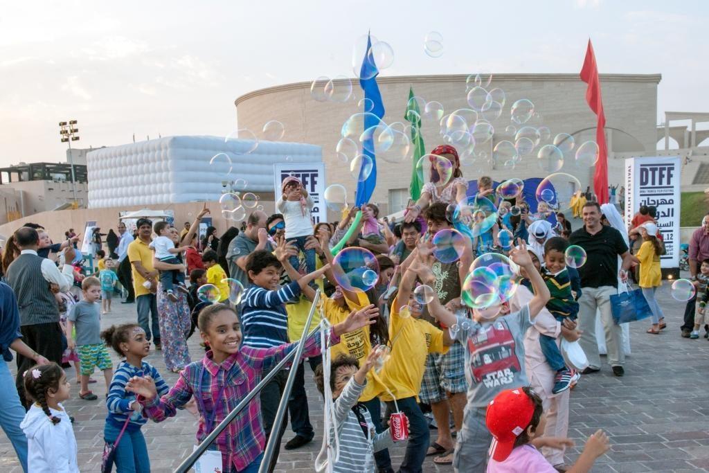 Bubbleshow for the Doha Tribeca Film Festival