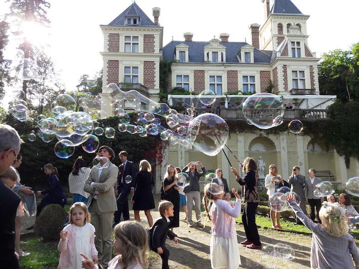 Seifenblasen Hochzeit, Bubble wedding, Riesenseifenblasen Hochzeit, Outdoor Show