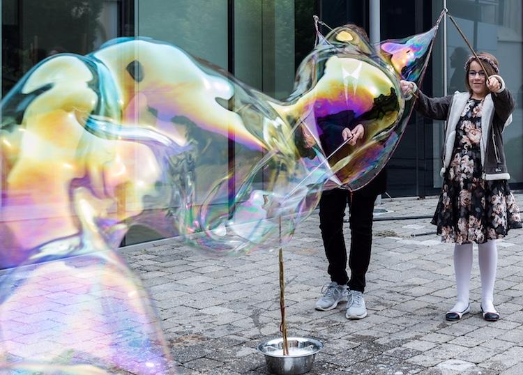 Seifenblasen Hochzeit, Bubble wedding, Riesenseifenblasen Hochzeit